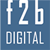 F2B Digital Logo