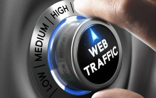 High website traffic through SEO